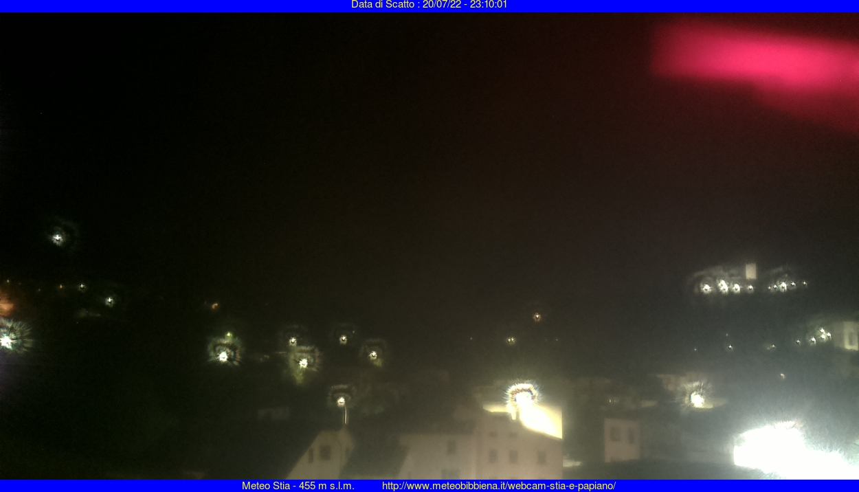 webcam Stia, provincia di Arezzo, Toscana